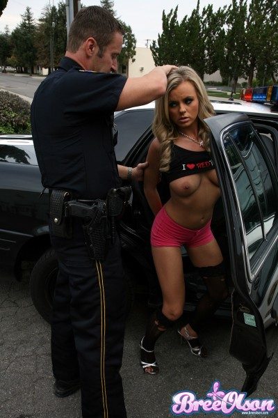 Bree Olsen Gets Arrested